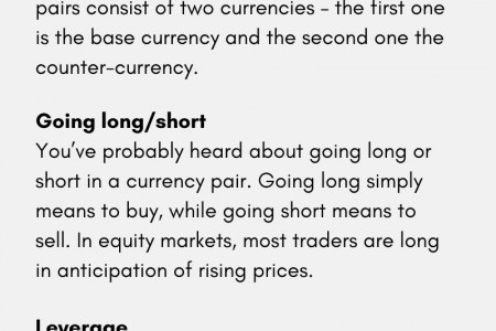 Forex Trading Terminology: 5 Must Know Terms Infographic