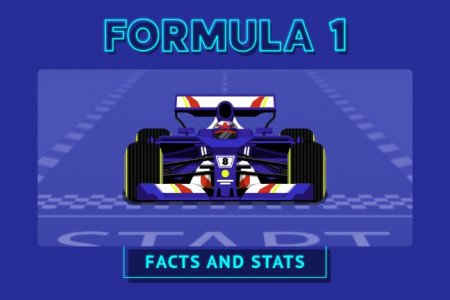 Formula 1 Facts and Stats Infographic
