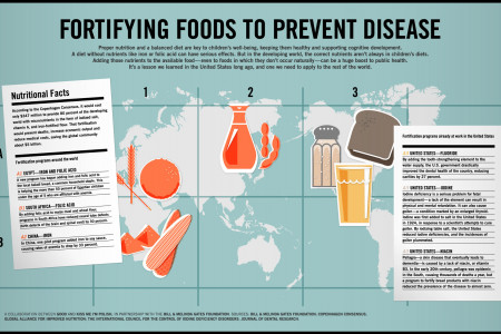 Fortifying Foods To Prevent Disease Infographic