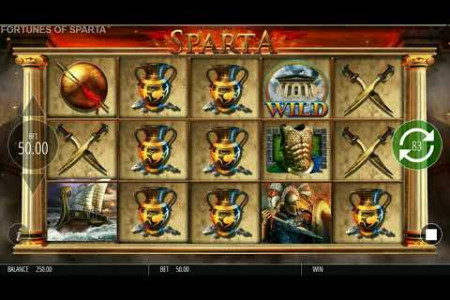 Fortunes of Sparta 97.04% RTP Slot by Blueprint Gaming- Big Win Infographic