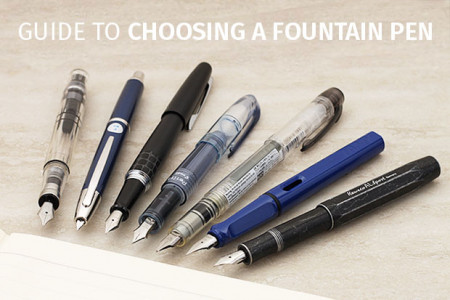 fountain pens Infographic