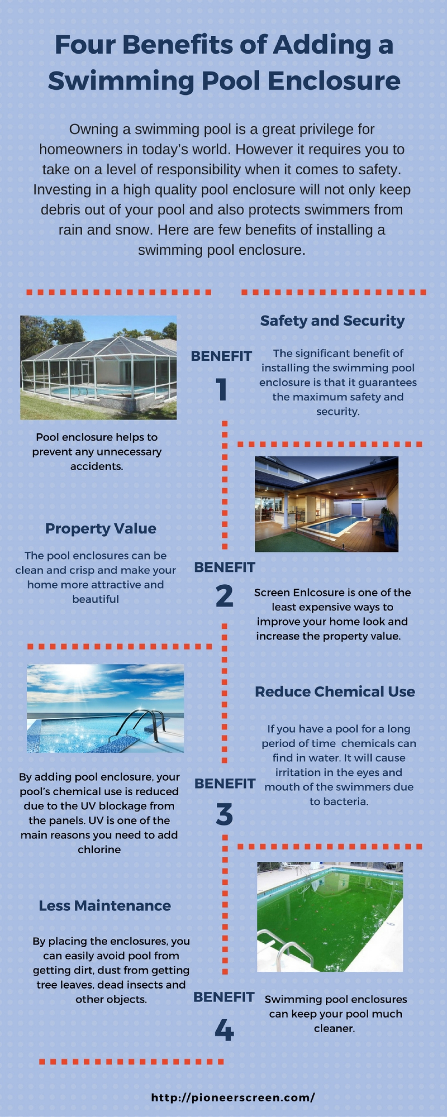 Four Benefits of Adding a Swimming Pool Enclosure