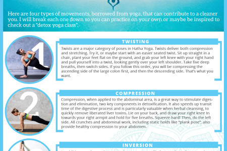 Four Ways To Move For Detoxification Infographic
