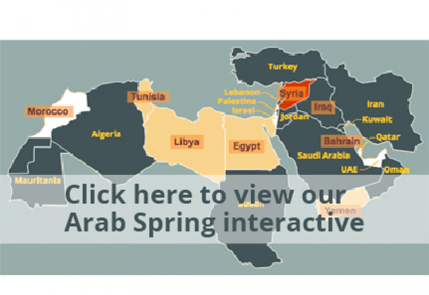 Four years after the Arab Spring uprising Infographic
