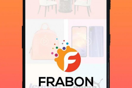 FRABON India's 1st (First) Video B2C Marketplace Platform App Infographic