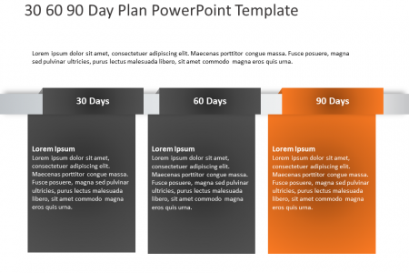 Free 30 60 90 Day Plan Template Infographic