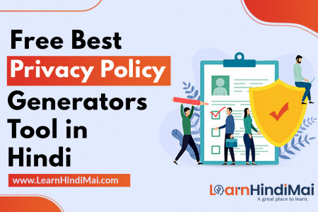 Free Best Privacy Policy Generators Tools in Hindi Infographic