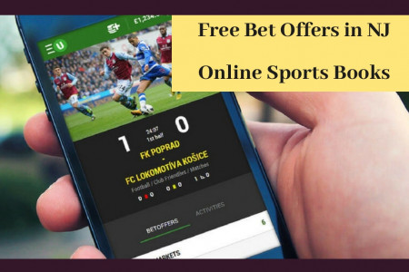 Free Bet Offers in NJ Online Sports Books Infographic