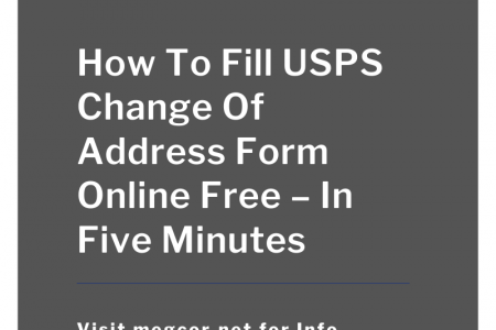 Free Change Of Address Infographic