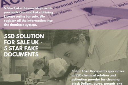 Free Online Criminal Record Check UK - 5 Star Fake Documents Infographic