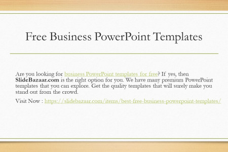 Free PowerPoint Backgrounds and Templates Infographic