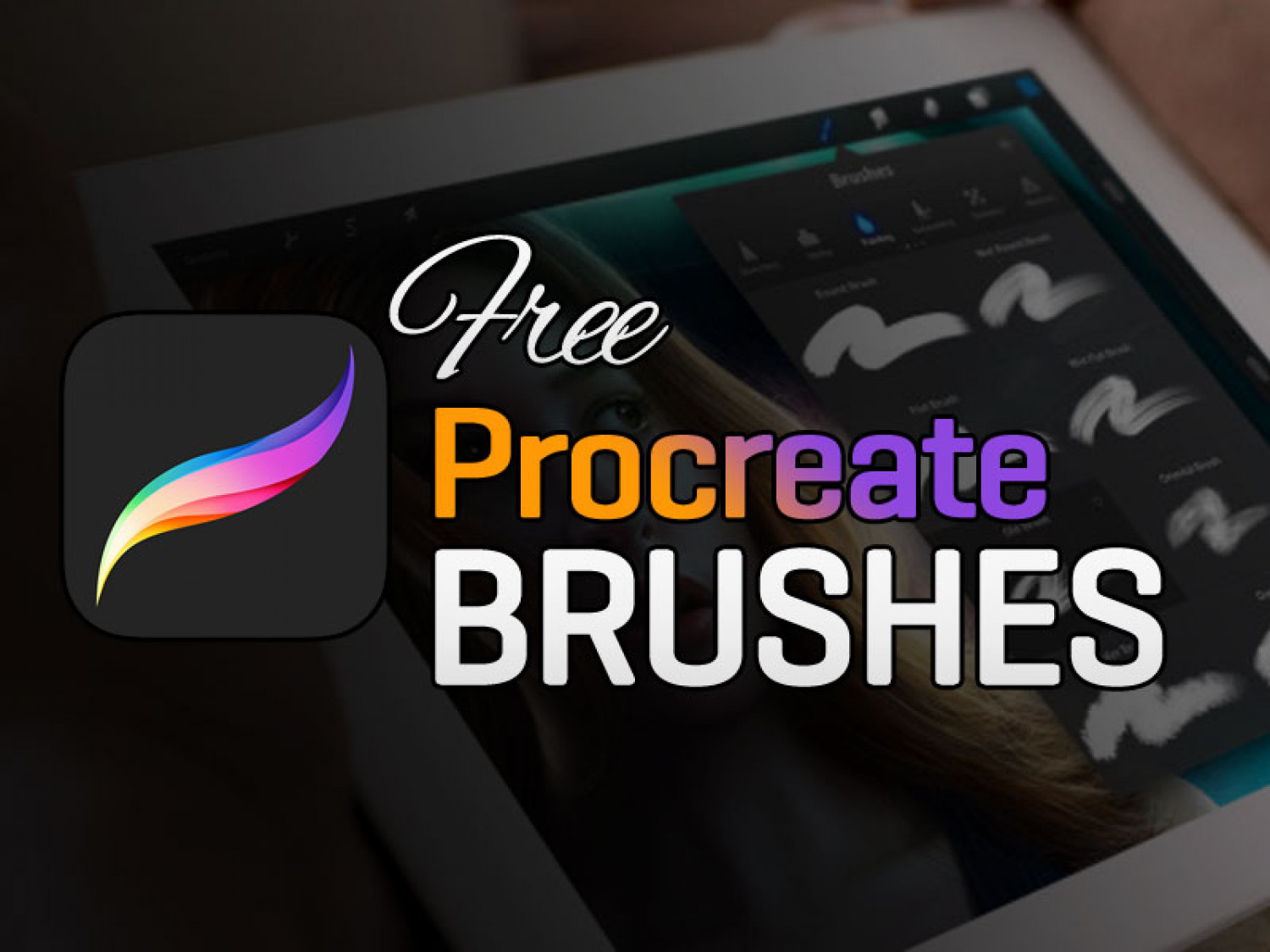 Free Procreate Brushes Infographic