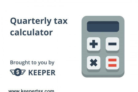 Free Quarterly Tax Calculator for Freelancers Infographic