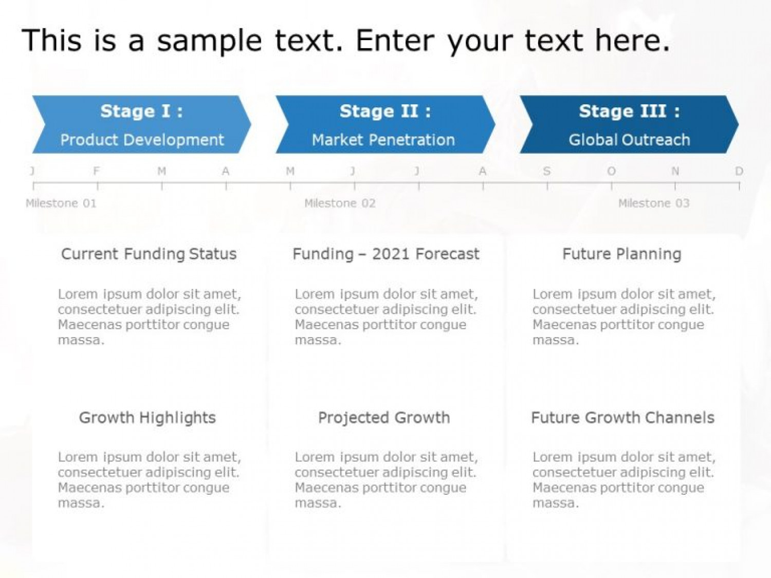 Free Roadmap PowerPoint Template Infographic