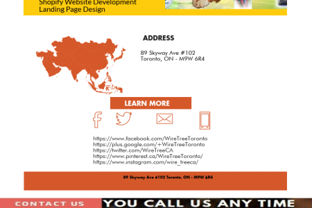 Freelance web designer and developer in toronto WireTree Infographic