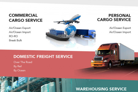 Freight Forwarding Company Infographic