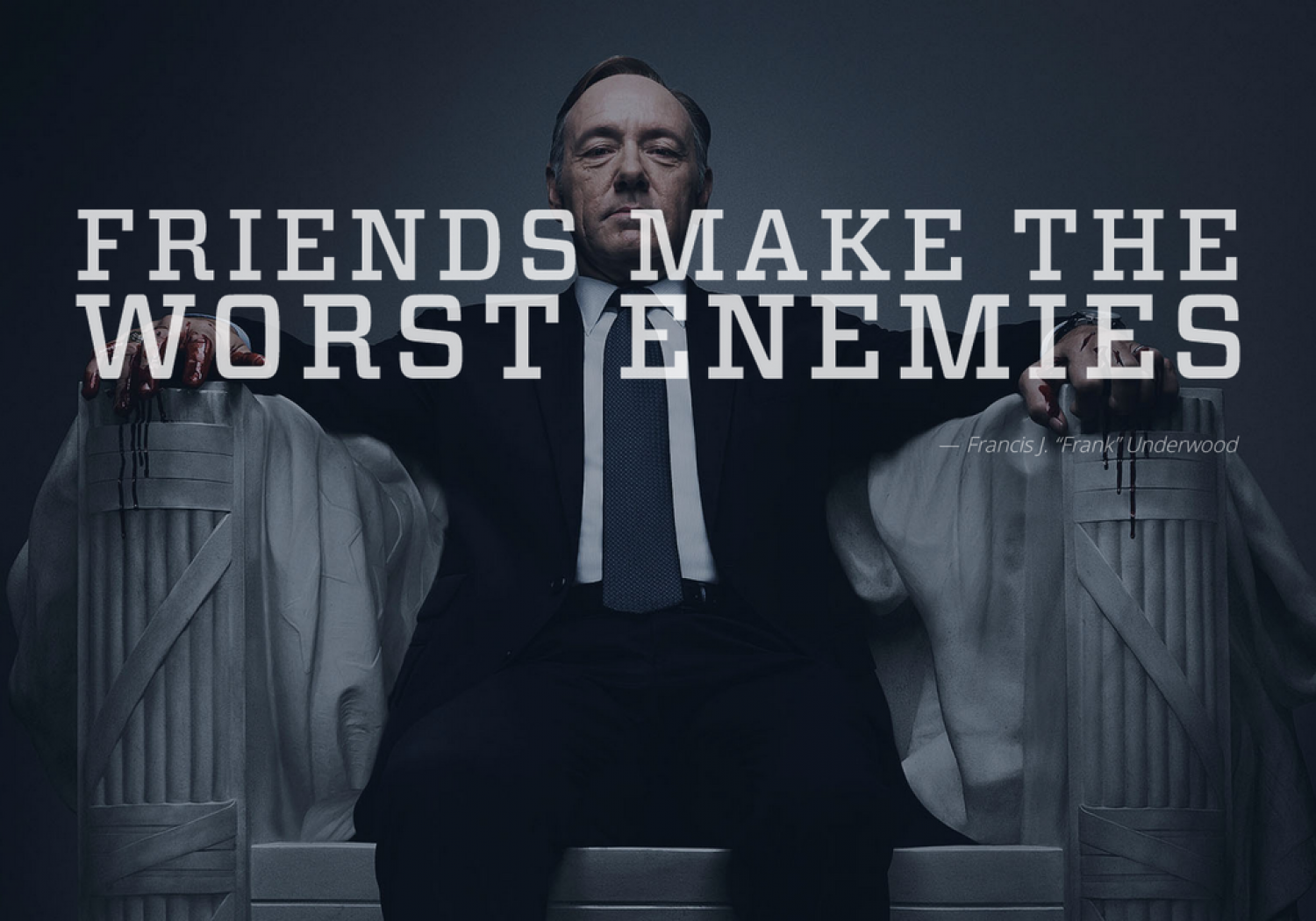 Friends make the worst enemies Infographic