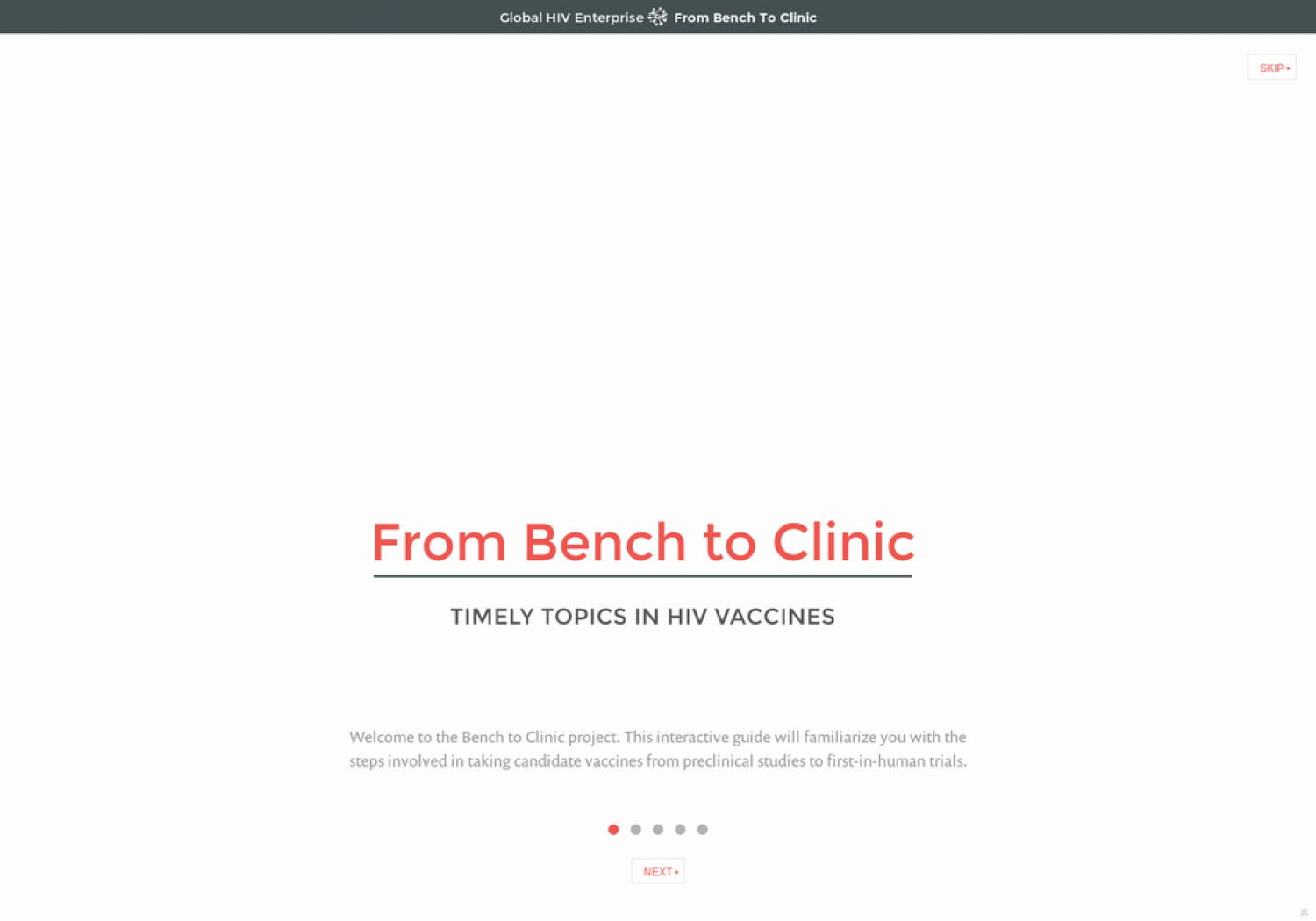 From Bench to Clinic Infographic