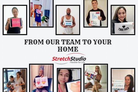 From Our Team To Your Home | Stretch Studio Infographic