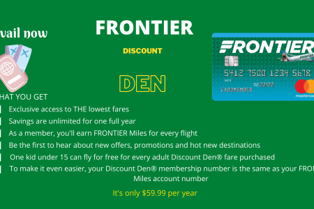Frontier Airlines Baggage Policy Infographic