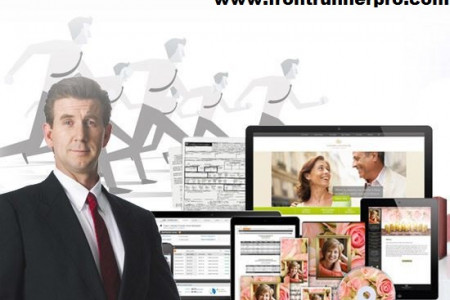 FrontRunner Professional - Leader in Funeral Home Software, Website Design & Management Tools Infographic