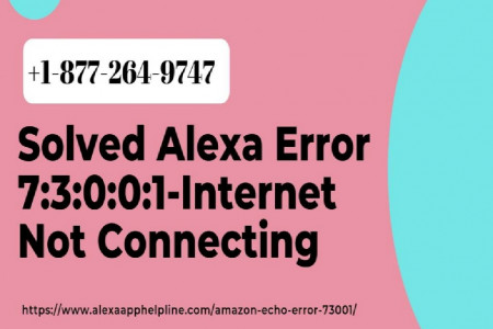 Frustrate With Alexa Error 73001 – Call 1-877-264-9747 to Fix Now Infographic