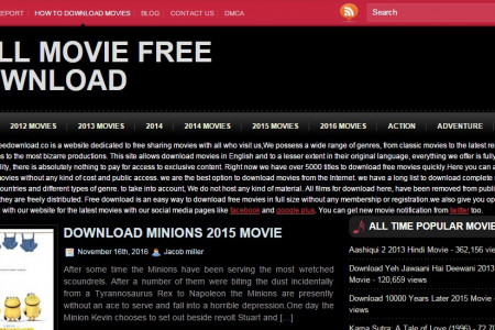 Full Movies Free Download Infographic