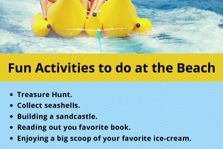 Fun Activities to do at the Beach Infographic