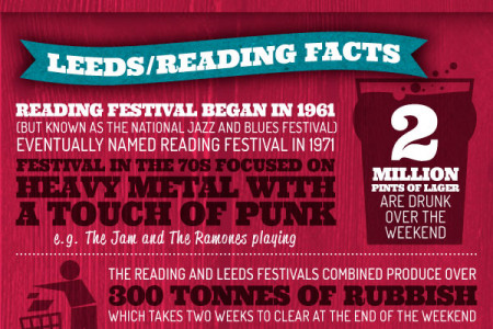 Fun Festival Facts Infographic