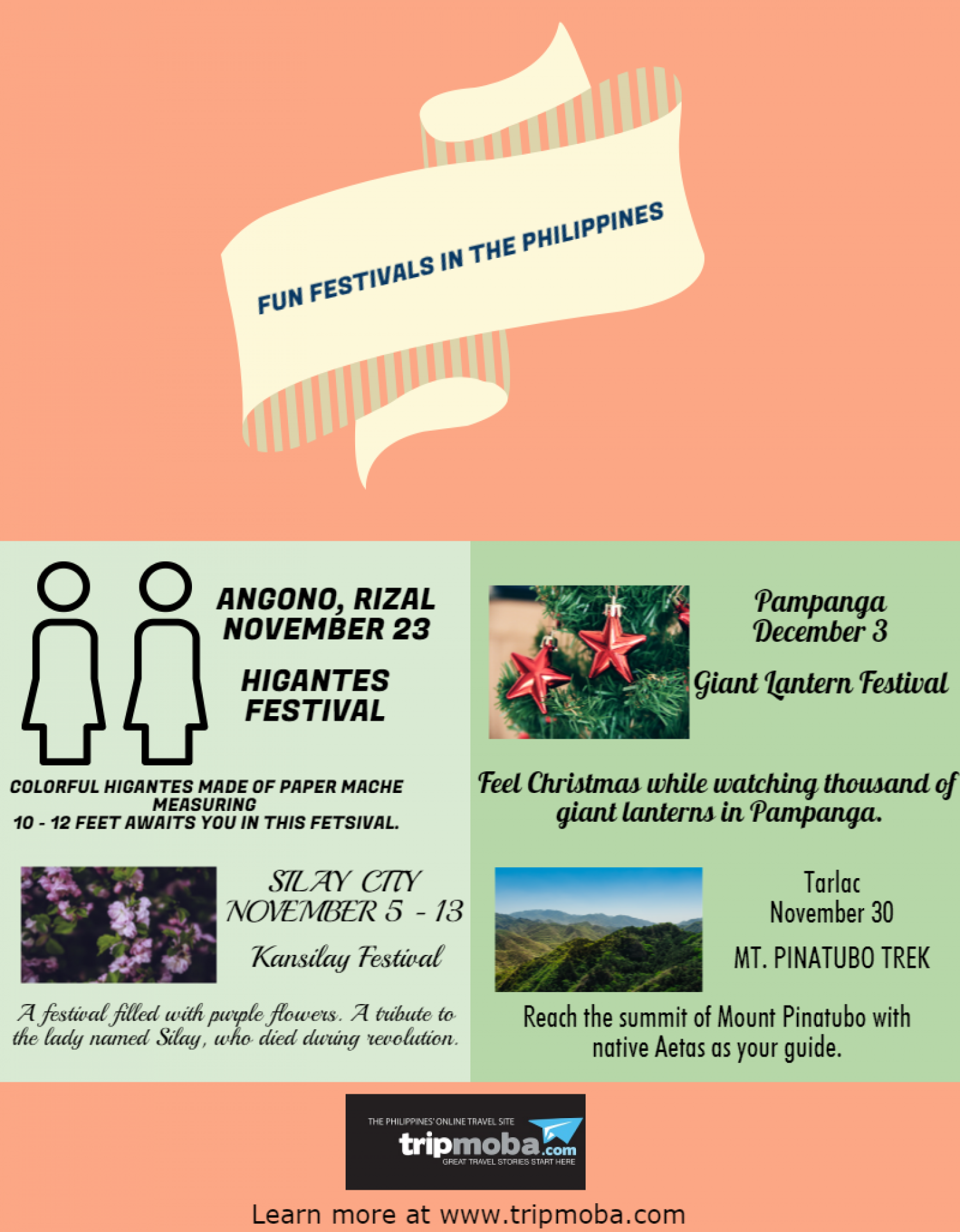 Fun Festivals In The Philippines Infographic
