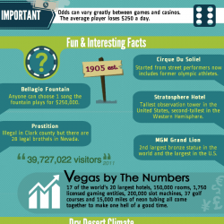 Fun Las Vegas Facts Visual Ly