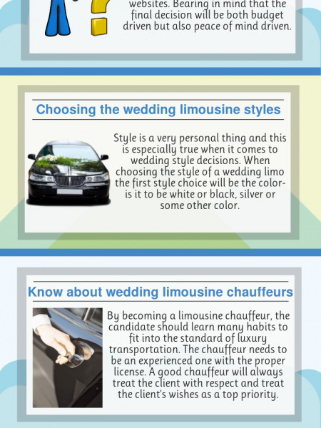 Fundamental Steps For Hiring A Wedding Limousine Infographic