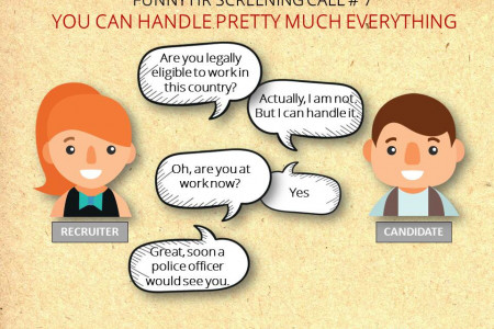 Funny Interview Scenario 7 | Applicant Tracking System Infographic