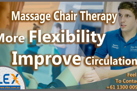 Gain More Flexibility and Better Circulation With 3D Massage Chair Therapy Infographic