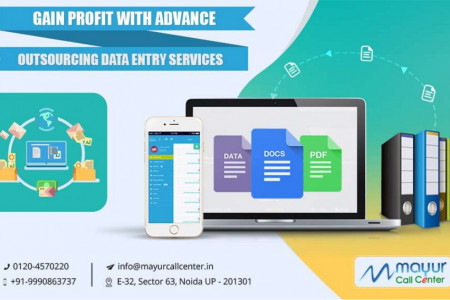 Gain Profit with Advance Outsourcing Data Entry Services Infographic