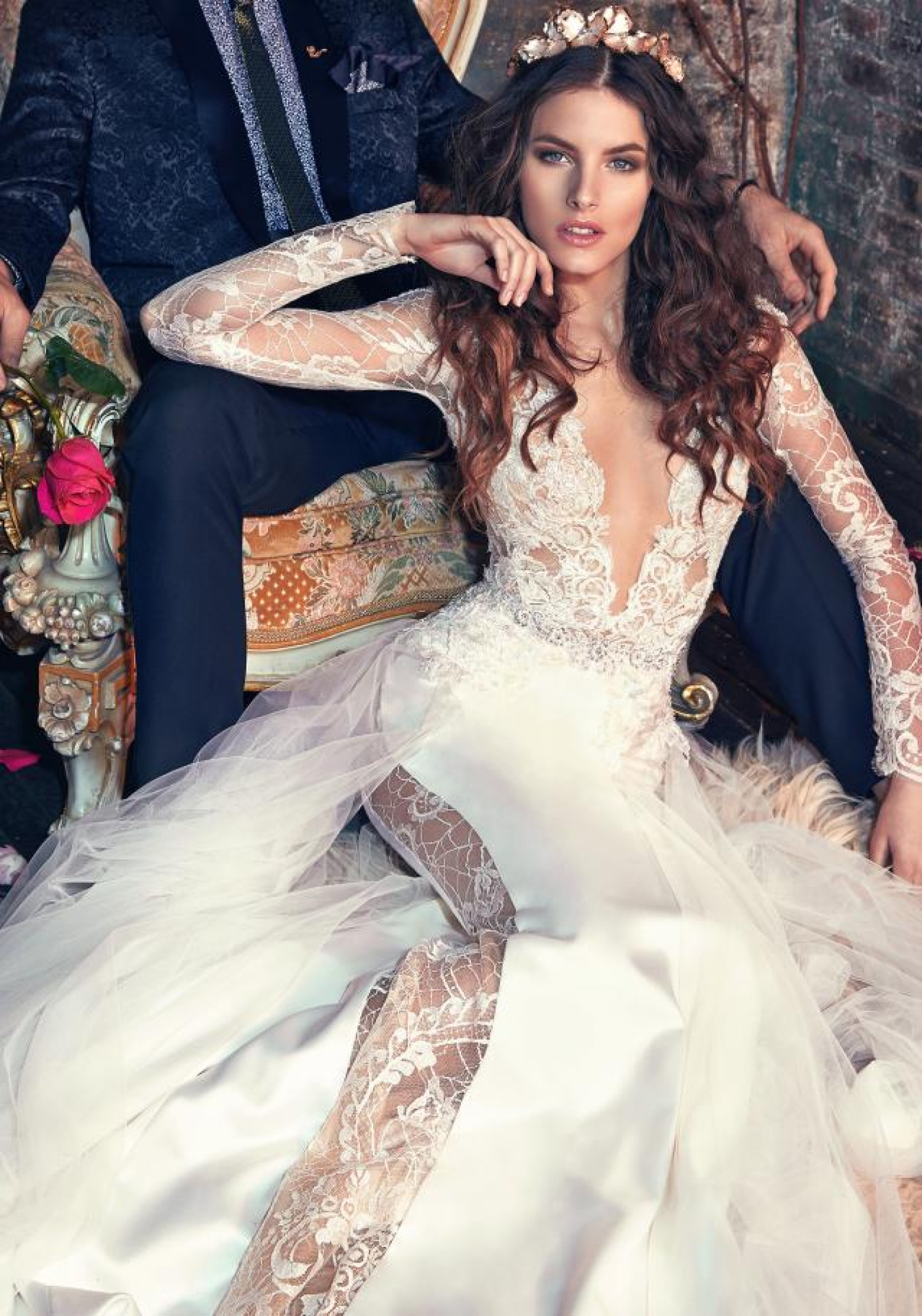 Galia Lahav Tiger Lily Wedding Dress Infographic