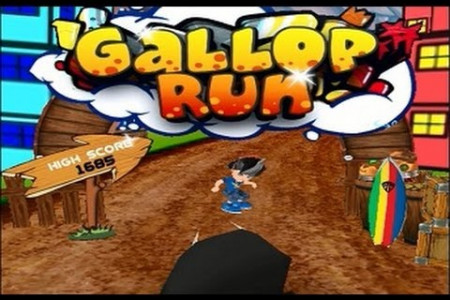 Gallop Run - 3D iOS & Android Game Infographic