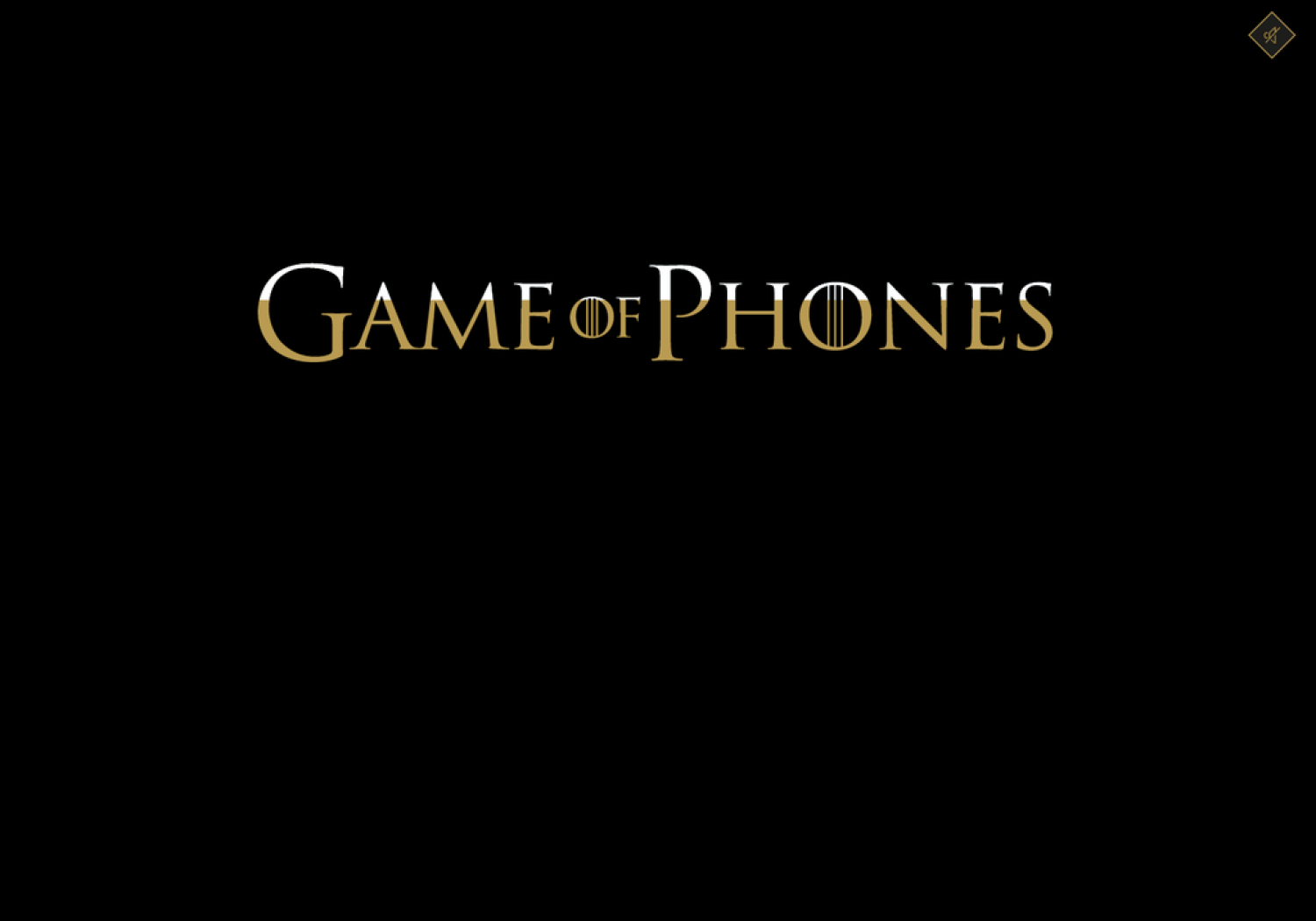 Game of Phones: Tech Plays in the Quest for the Iron Throne (2015-2016) Infographic