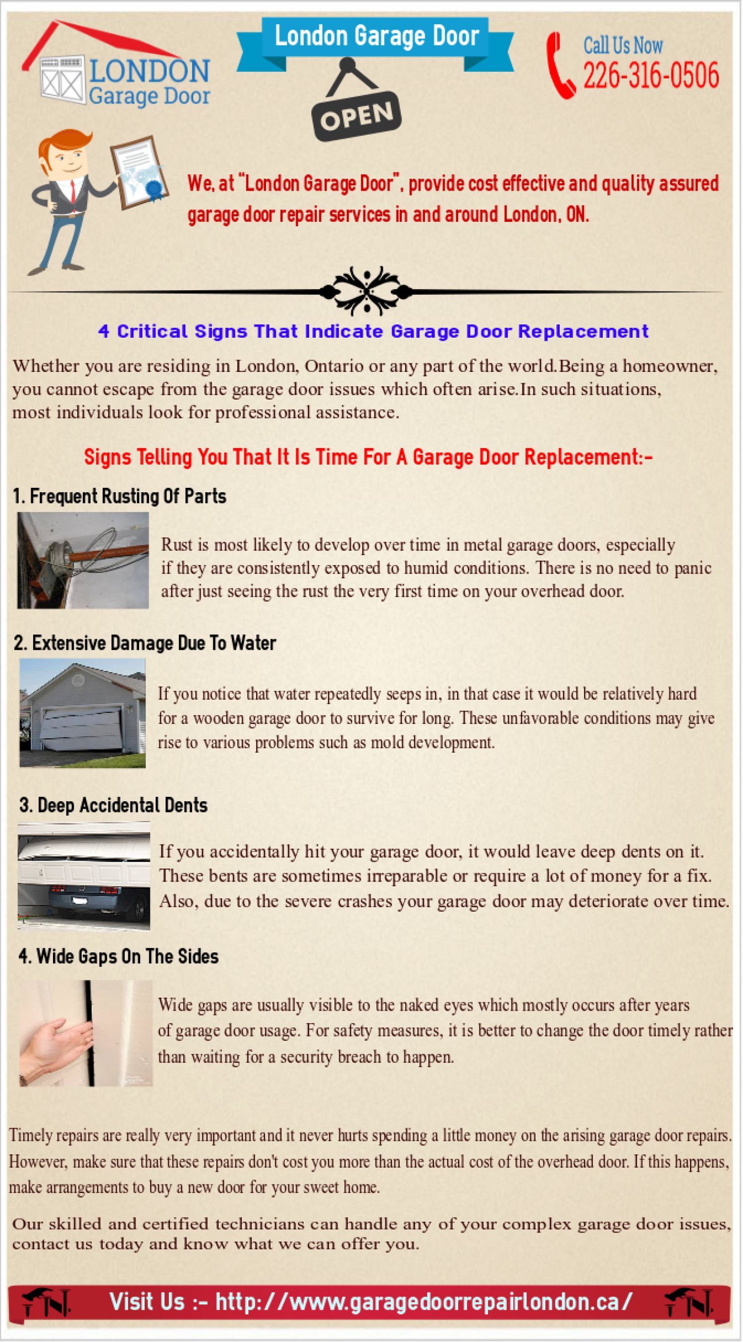repairsugar door replacement sugar installers rotten land garage