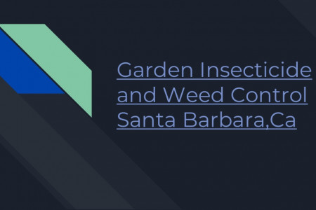 Garden Weed Herbicide Treatment Infographic
