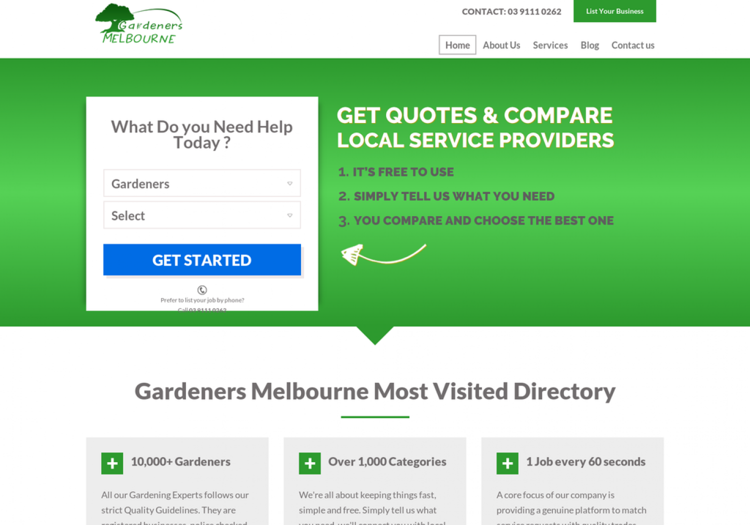 Gardeners Melbourne - Best Gardening Services in Melbourne Infographic
