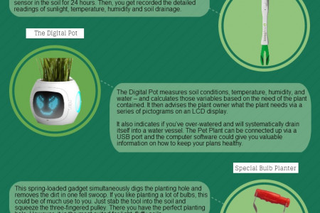 Gardening Gadgets for the 21st Century Gardener  Infographic