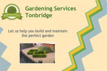 Gardening Services Tonbridge Infographic