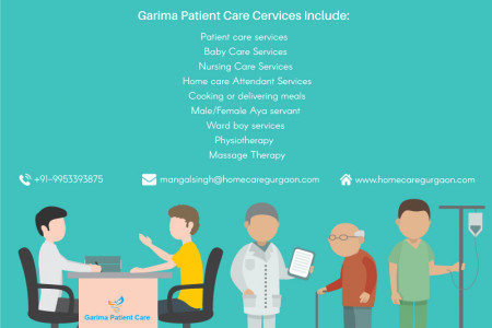 Garima Patient Care Services: Best Patient and Nursing Care Services Provider Infographic