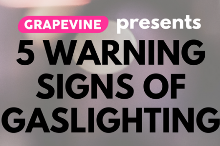 Gaslighting In Relationships: 5 Warning Signs To Look For Infographic