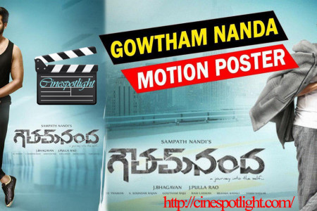 Gautham Nanda romantic action movie Infographic