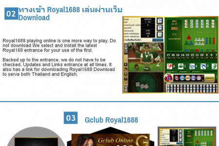Gclub Royal1688 Online Casino Infographic