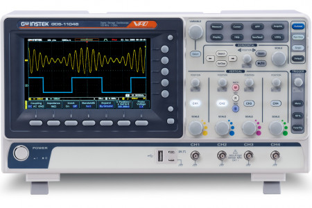 GDS-1000B Series Digital Storage Oscilloscopes Infographic