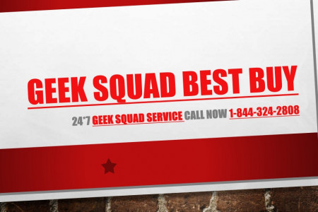 Geek Squad Best Buy -  Geek Squad Tech Support Services 1-844-324-2808 Infographic