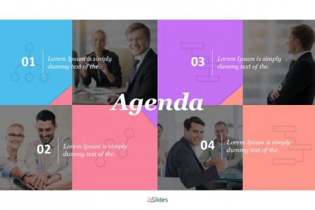 General Agenda Presentation Template | Free Download Infographic
